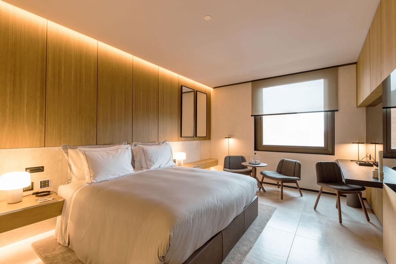 Elegant and modern rooms in barcelona for Habitacion barcelona